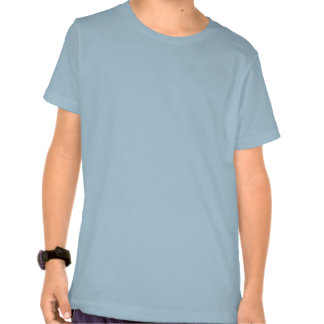 Flowers Blue Tinted Ground Orchid T Shirts