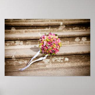 Flowers bouquet poster