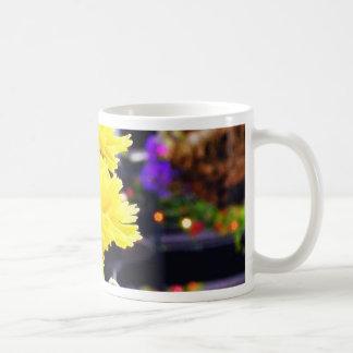 Flowers Buds Stems Coffee Mugs