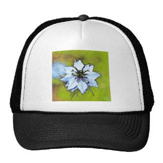 Flowers Bugs Mesh Hat