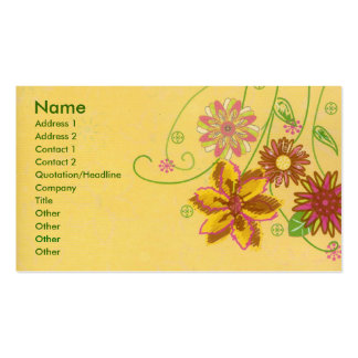 Flowers Business Card Templates