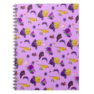 Flowers & Butterflies - Birds & Stars Notebooks