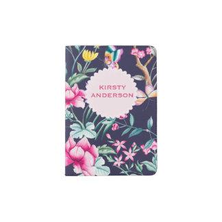 Flowers & Butterflies Personalized Passport Holder