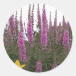 Flowers & Butterfly Stickers