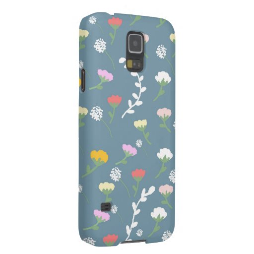 flowers galaxy s5 cases