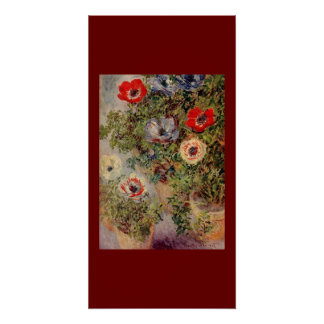 Flowers Claude Monet Painting Love Peace Destiny