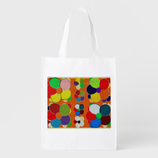 flowers cloth reusable grocery bag