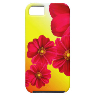 Flowers Colorful Pattern Spring Garden Dahlia Art iPhone 5 Cover