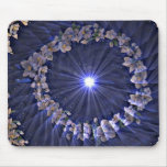 Flowers constellation Mousepad