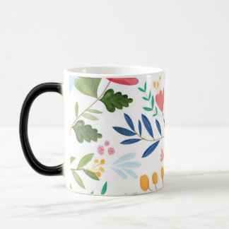 Flowers Design Mug