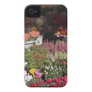 flowers displayed for sale in the Campo de' iPhone 4 Case-Mate Case