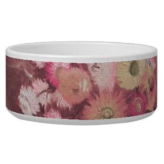Flowers dog Pet Bowl