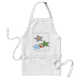 flowers-easter standard apron