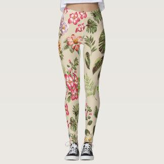Flowers & Ferns Leggings