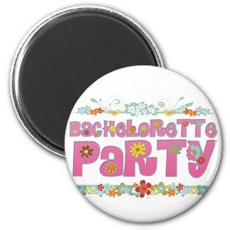 flowers floral hippie bachelorette party bridal magnet