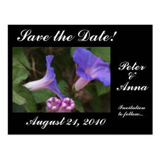 Flowers Floral Wedding Garden Nuptuals Postcard