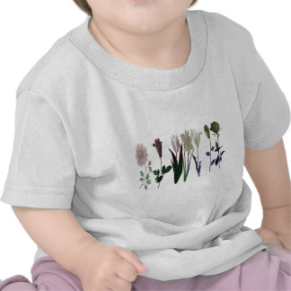 Flowers flower rose tulip daisy shirts