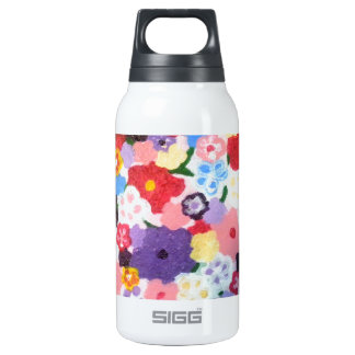 Flowers, Flowers, Flowers 10 Oz Insulated SIGG Thermos Water Bottle