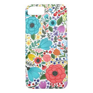 Flowers Flowers Ladybug iPhone 8/7 Case