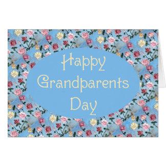 Flowers For Grandma-Grandparents Day Greeting Card