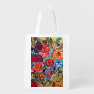 Flowers for Jenna Reusable Grocery Bag