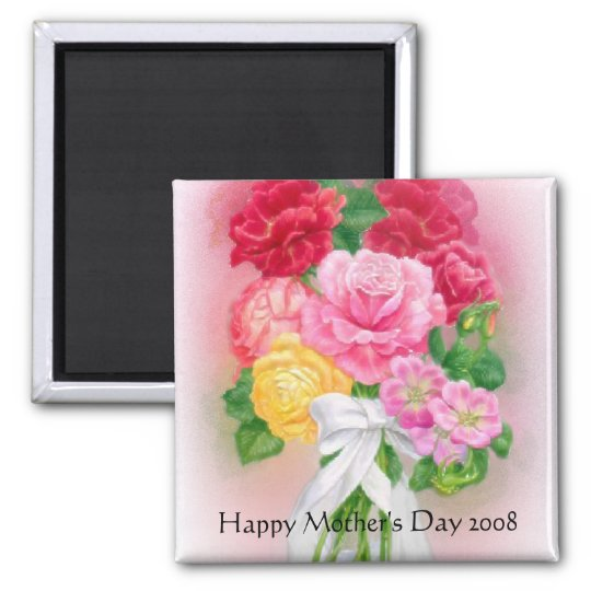 Flowers for Mothers Day Magnet