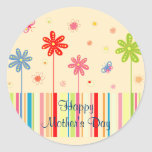 Flowers for Mother's Day Stickers