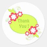 Flowers frame - Sticker