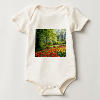 Flowers from Holland, Keukenhof gardens Baby Bodysuit