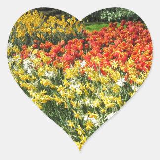 Flowers from Holland, Keukenhof Heart Sticker