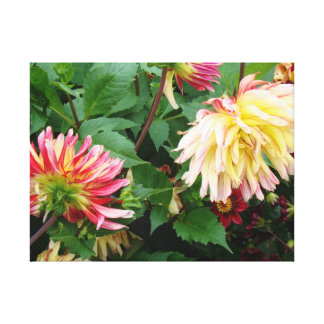 Flowers from my garden canvas prints