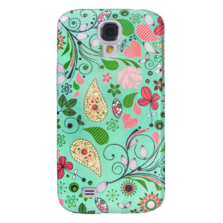 Flowers Funky Vintage Texture Pattern Phone Case