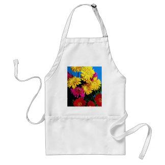 Flowers, Gerbera daisies Aprons