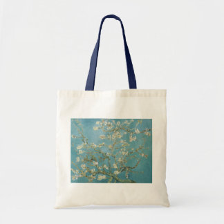 Flowers Gogh Branches Almond Blossoms Nature Tote Bags