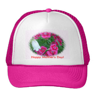 Flowers, Happy Mother's Day! Cap