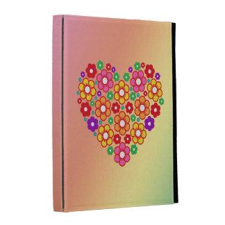 FLOWERS HEART iPad Folio Case