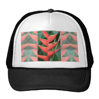 Flowers Heliconia Bamboo from Costa Rica Love Gift Trucker Hat