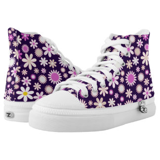 Flowers♥ High Tops
