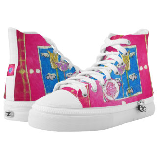 flowers high tops