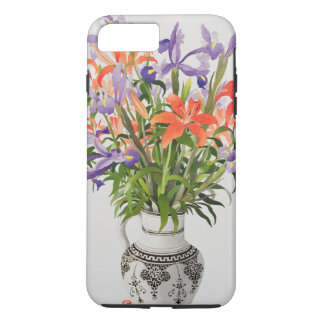 Flowers in a Black and White Jug iPhone 8 Plus/7 Plus Case