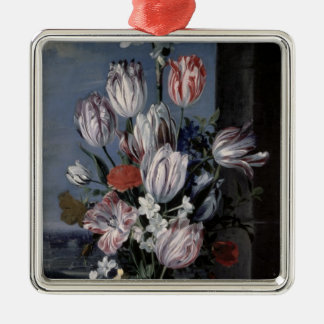 Flowers in a Crystal Vase, 1652 Christmas Ornament