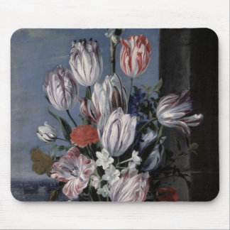 Flowers in a Crystal Vase, 1652 Mouse Mat