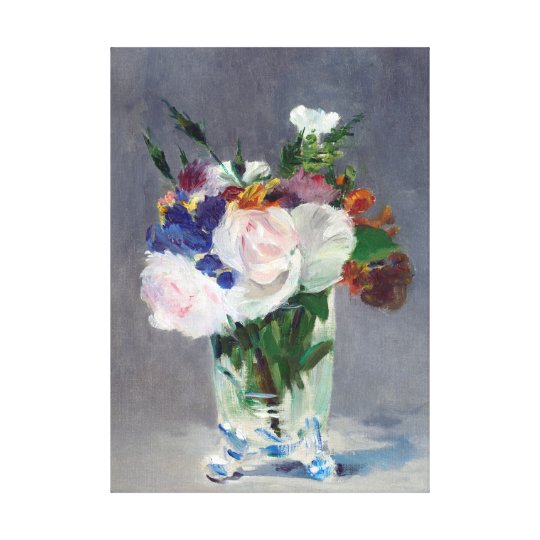 Flowers in a Crystal Vase Edouard Manet Fine
