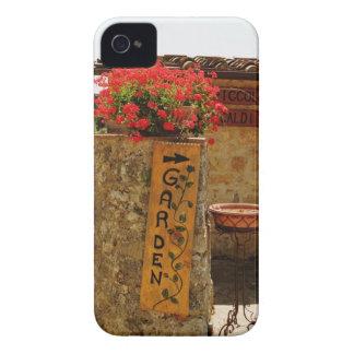 Flowers in a garden, Monteriggioni, Siena iPhone 4 Case-Mate Case