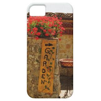 Flowers in a garden, Monteriggioni, Siena iPhone 5 Case