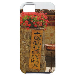 Flowers in a garden, Monteriggioni, Siena iPhone 5 Covers