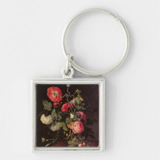 Flowers in a Glass Vase, 1667 Key Ring