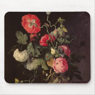 Flowers in a Glass Vase, 1667 Mouse Pad