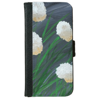 Flowers in a Storm iPhone 6 Wallet Case