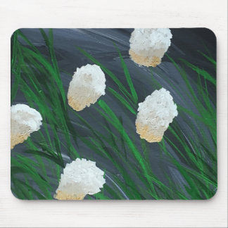 Flowers in a Storm Mouse Mat